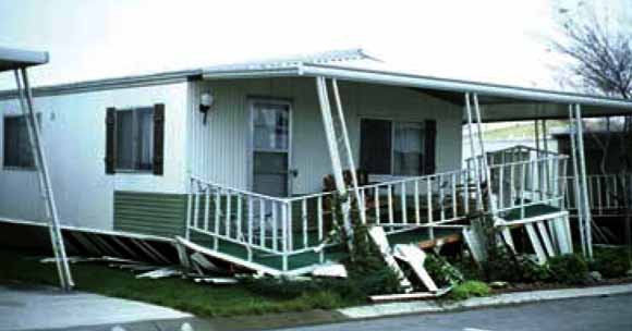 MOBILE & MANUFACTURED HOMES & EARTHQUAKES