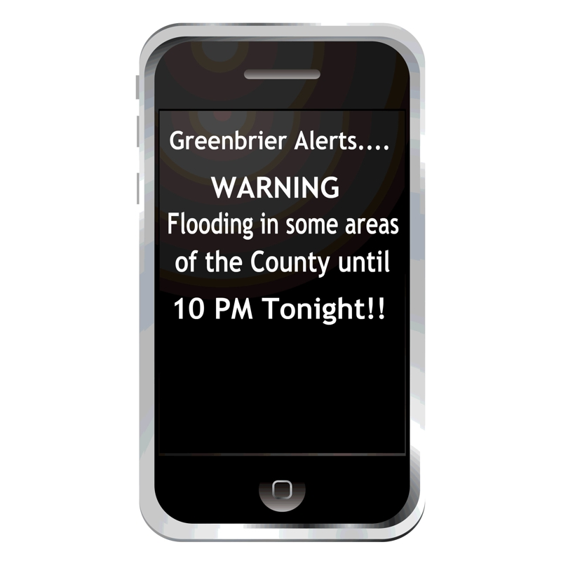 alerts on cell phones