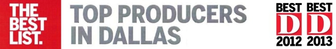 The Branch Team - Named Top Producers in Dallas by D Magazine