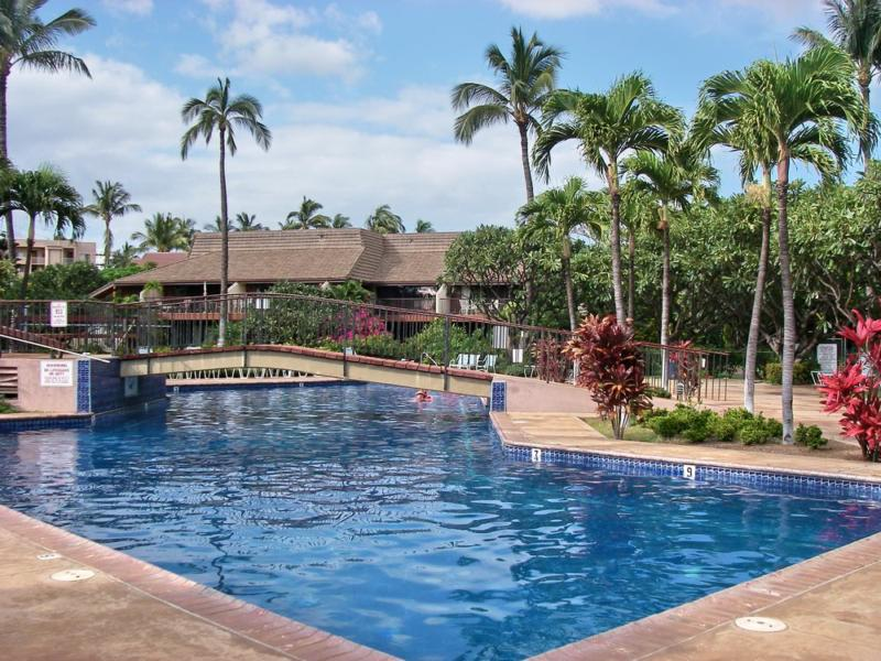 pool at the koa resort in kihei maui hawaii