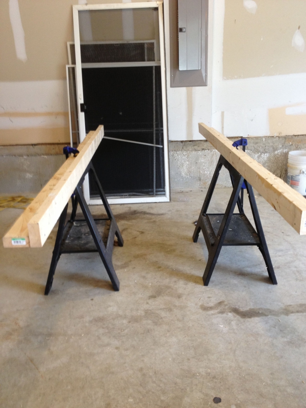 I w Door painting jig 1 & Painting tips from a reluctant painter