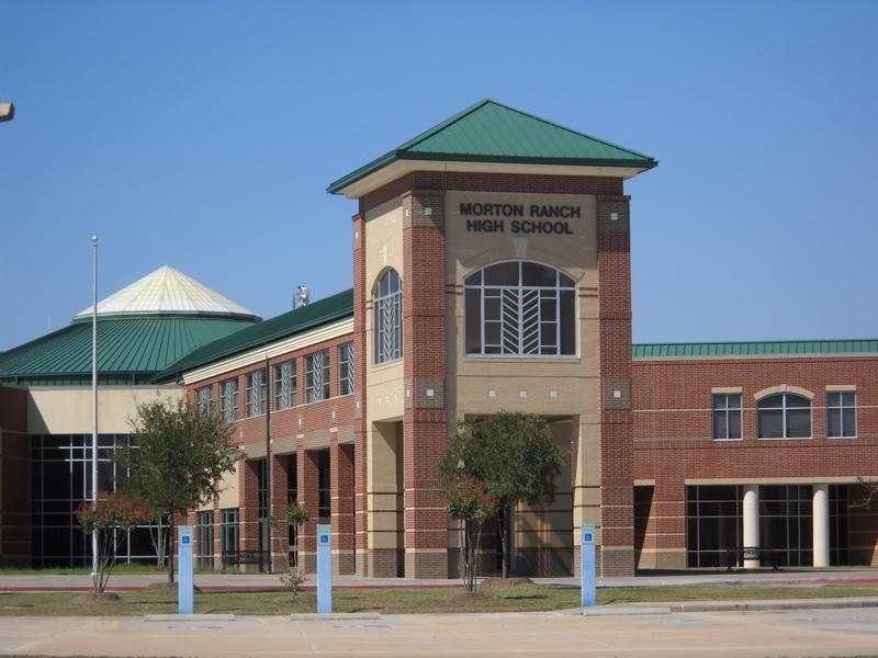 Morton Ranch High Schooll Katy Texas
