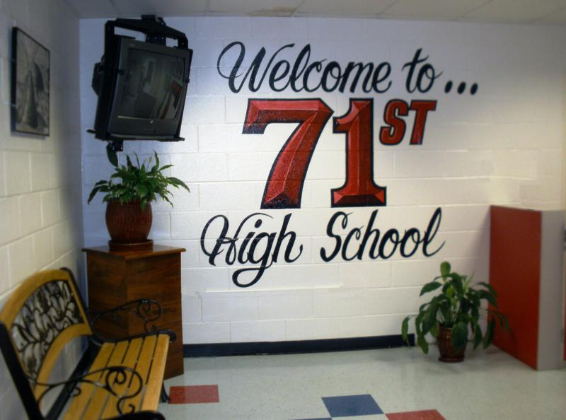 Information c**rt*sy of the Seventy-First High School Website: