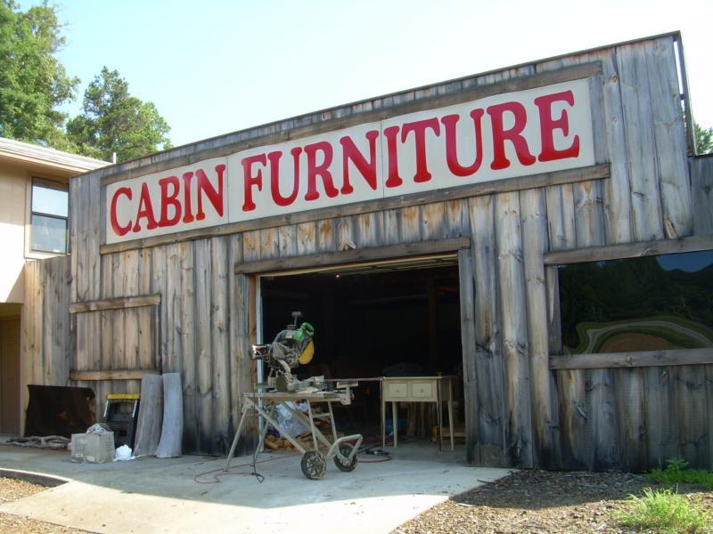 The Lazy Elk Custom Made Log Furniture In Murphy Nc