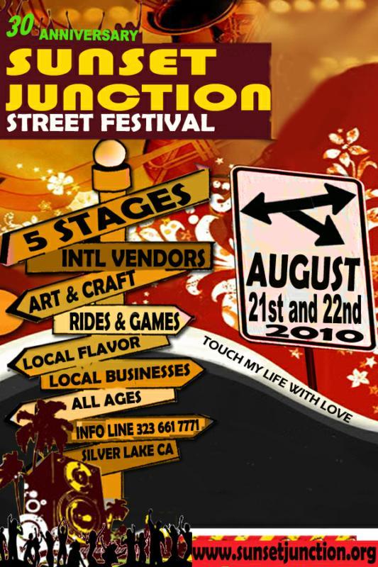 Susent Junction Street Fair flyer