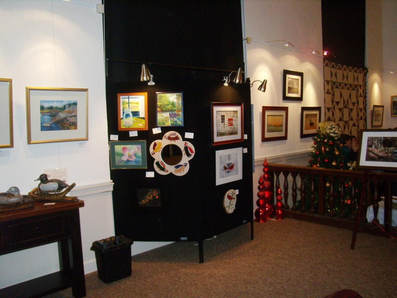 The Art Center Galleries On West Main in Blue Ridge, GA