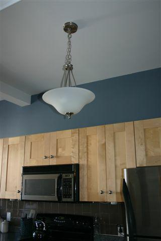 kitchen light before
