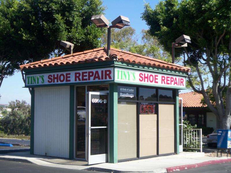 Tiny S Shoe Repair Carlsbad