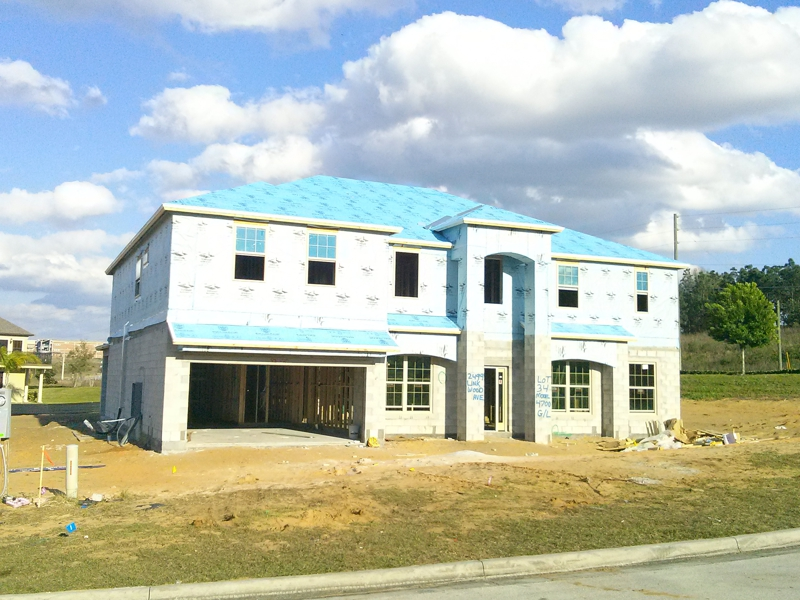 Tuscany ridge clermont new construction by meritage homes for Tuscany model homes
