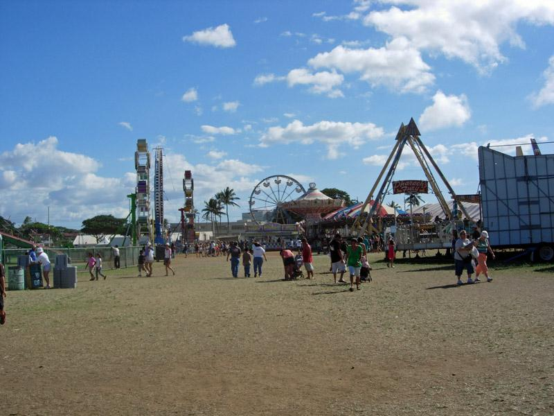 Midway of the Maui County Fair