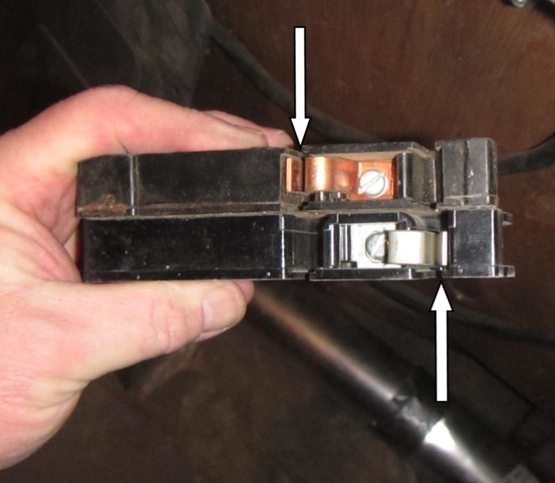 Zinsco Breaker Wenatchee Home Inspection