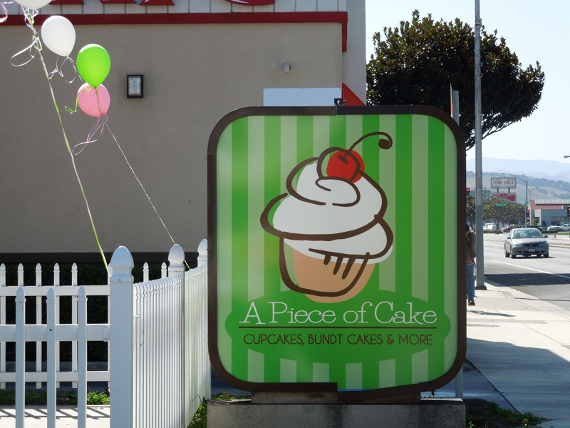 A Piece Of Cake, Salinas CA