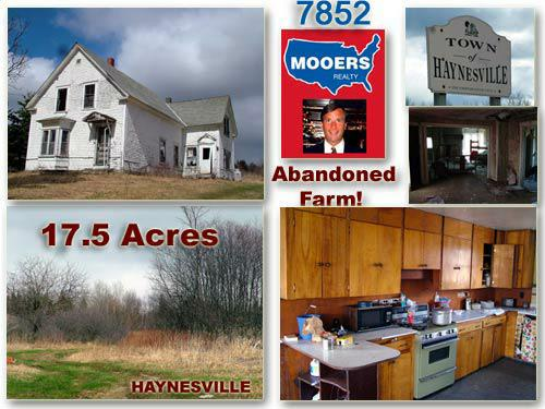 Maine Abandoned Farm Home For Sale With 17 Plus Acres O