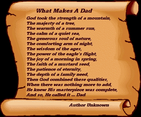 Fathers day quotes for What makes a good father quotes