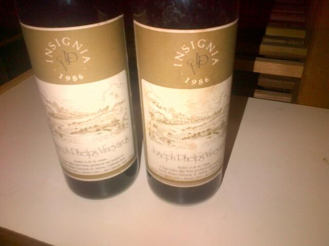 Insignia Wine Joseph Phelps Vieyards