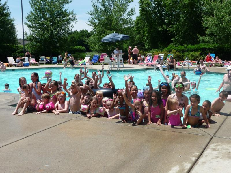 Franklin Green Pool party