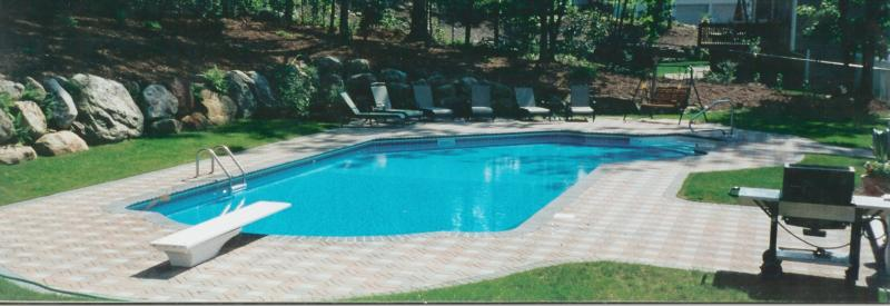 Jefferson township nj colonial home for sale with for Inground swimming pools sale