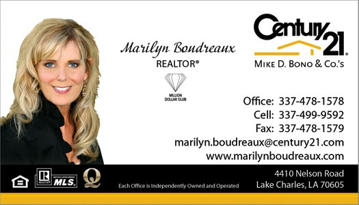 Your business card can be a calling card for a new client and money marilyn boudreaux century 21 mike d bono do you hand out your real estate business card colourmoves