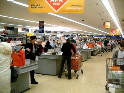 воровство в супермаркете