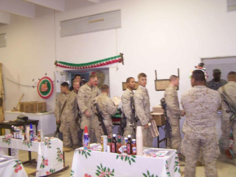 Chirstmas with our US Army Troops