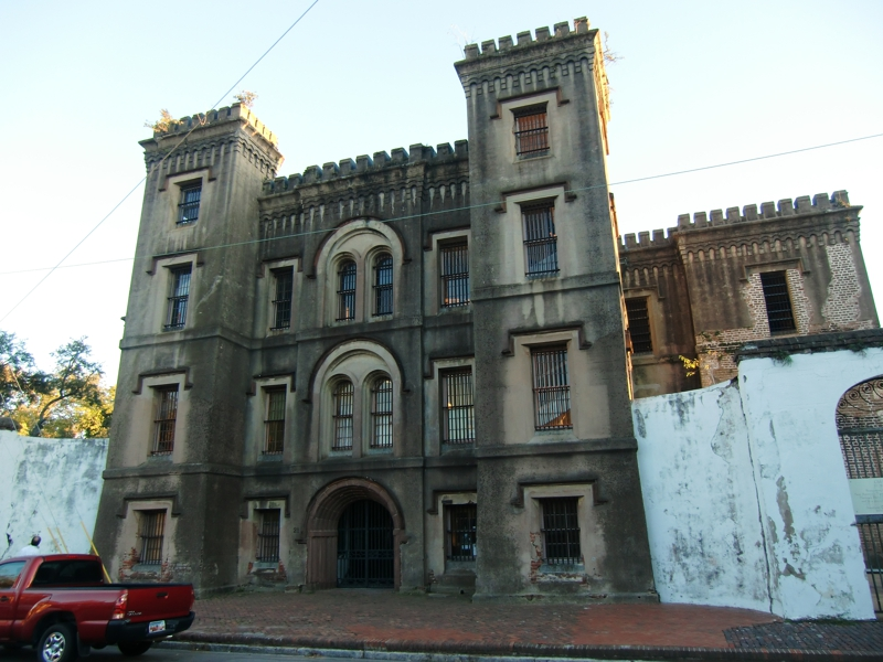 The haunted Old City Jail, Charleston, SC