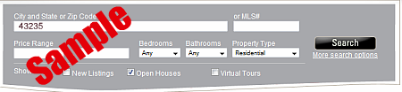 Real Living HER Home search - search for open houses