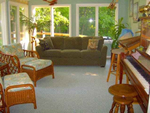 Bright Sun Room living area