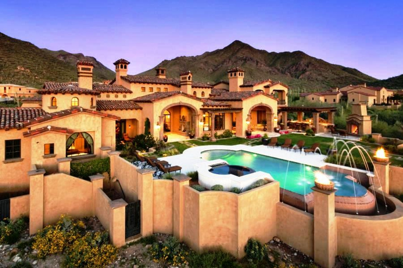 Luxury homes in paradise valley homes for sale in for Arizona luxury homes