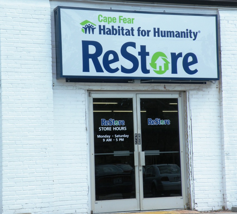 Cape Fear Habitat For Humanity Restore In Wilmington Nc