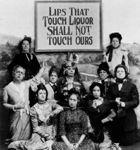 In the flapper era of the 1920's, when prohibition was king in America,