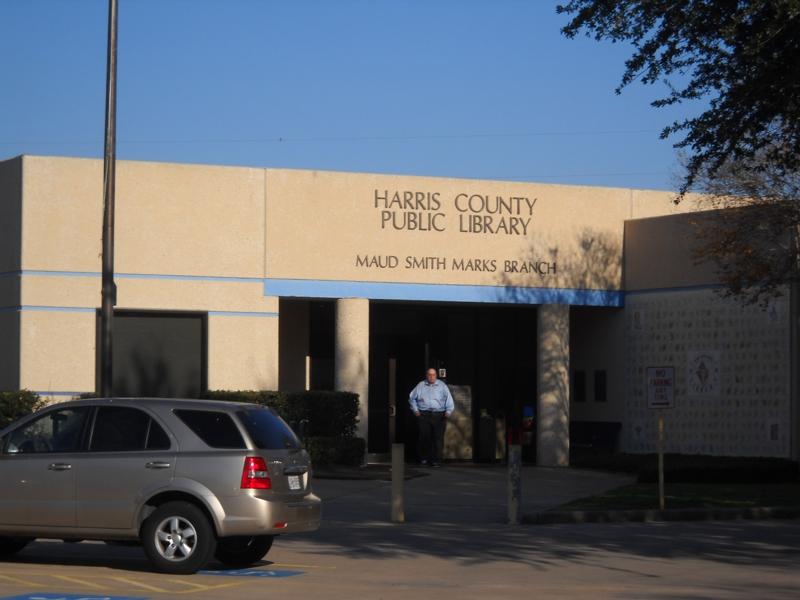 Maud Marks Library Katy Texas