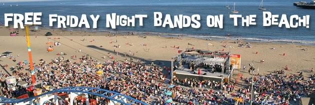 Santa Cruz Beach Boardwalk Free Friday Night Bands Michelle Carr Crowe Results Blog Image