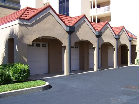 Private Garages At Legacy Key Condos In Orange Beach Al