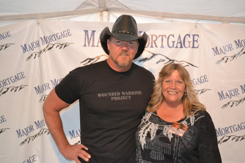 Trace Adkins and me!