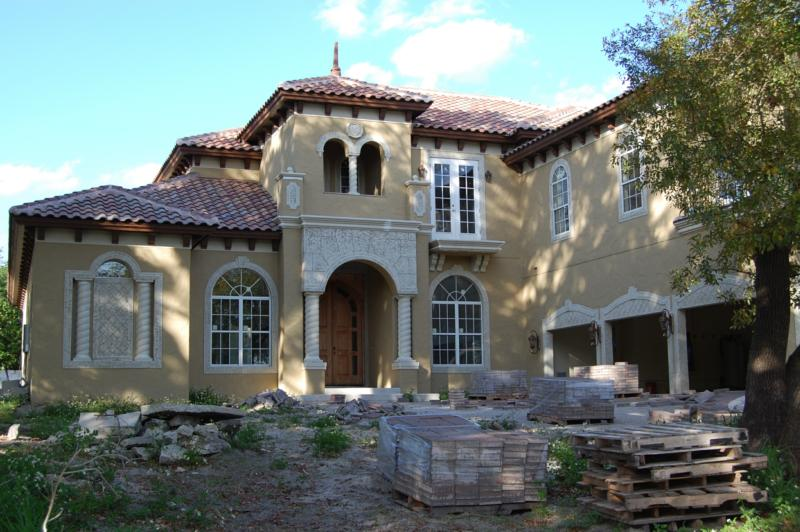 Mediterranean Home New Construction