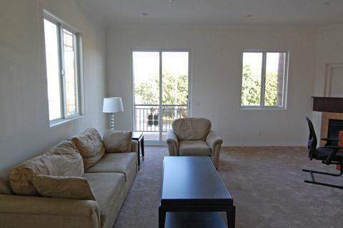 Model Home Staging For A Los Angeles Real Estate Auction 2nd Unit