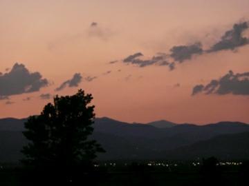 Highlands Ranch redstone park sunset