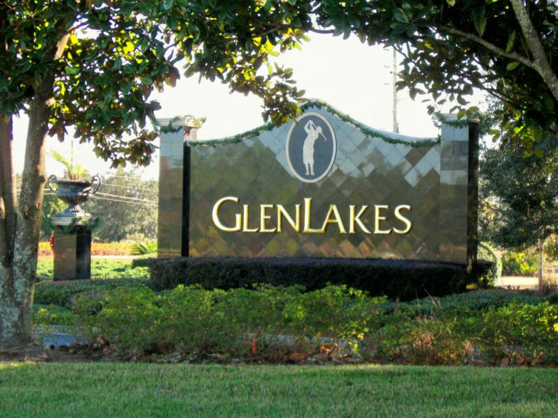 Glen Lakes Golf and Country Club Entrance Weeki Wachee Florida