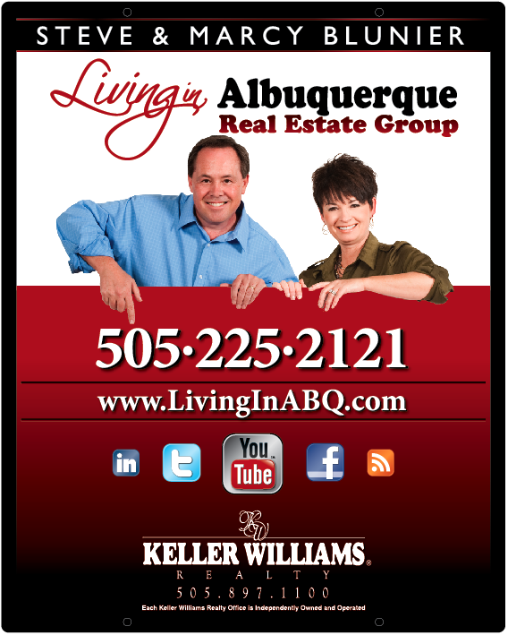 Featured Keller Williams Realty Yard Sign