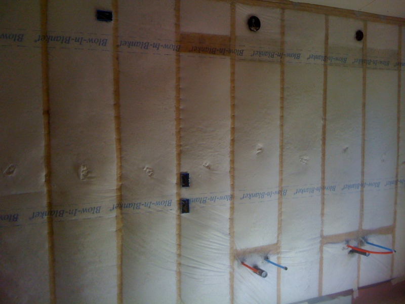Cal green building bib wall insulation chico homes for What insulation to use in 2x6 walls