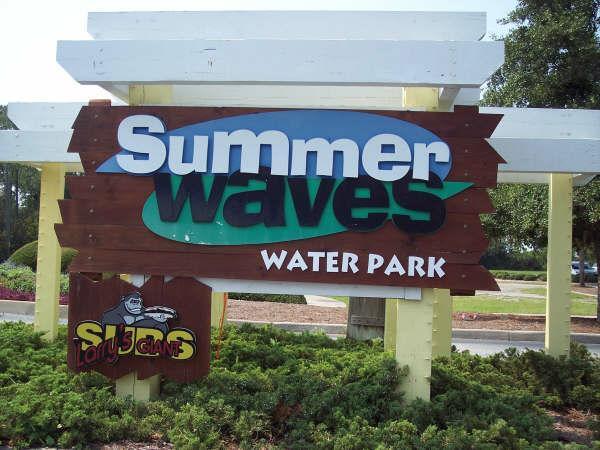 summer waves entrance