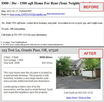 How To Make A Professional Looking Craigslist Ad