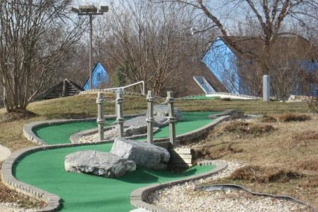 Try some miniature golf at Cameron Run Regional Park