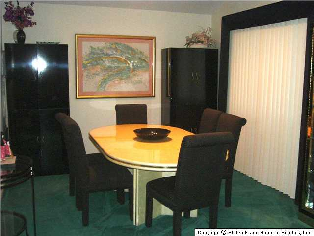 Richmond Staten Island Two Family Home for Sale dining room