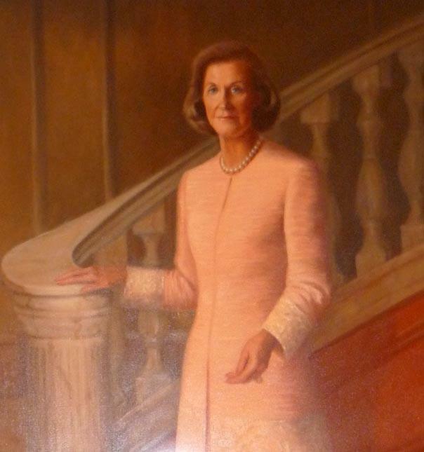 Portrait of Wilhelmina Cole Holladay