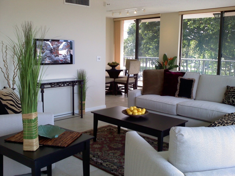 Staged home in Boca Raton