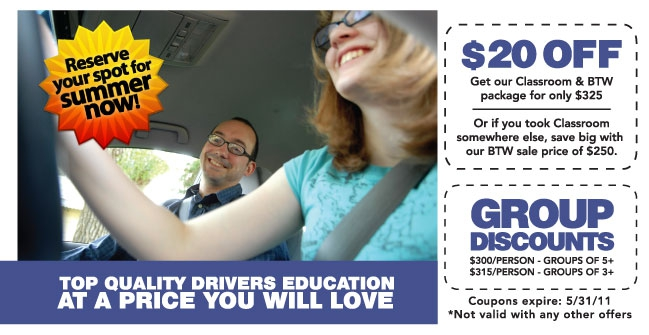 Elite Driving School of MN Coupon