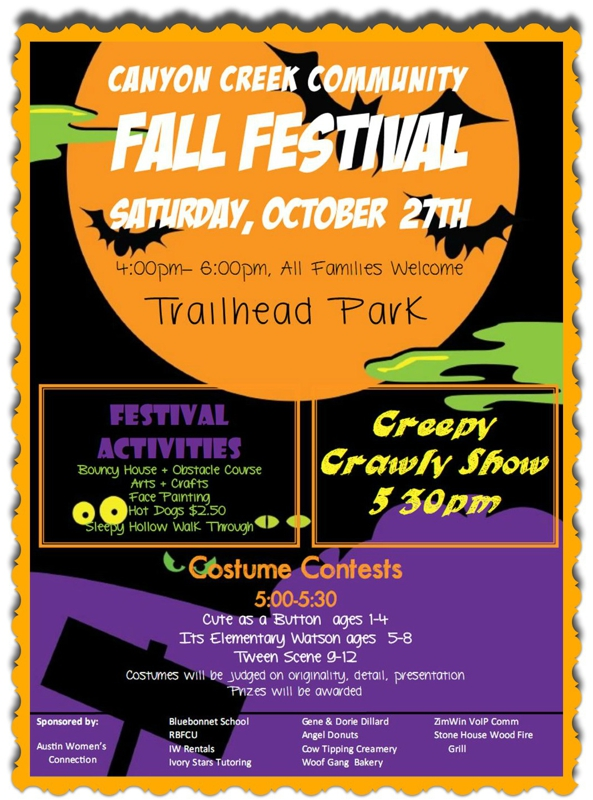 Canyon Creek Fall Festival