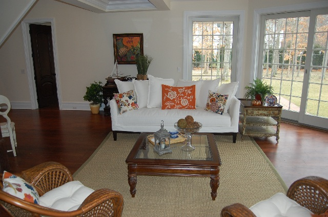 Spec home after staging by Styled and Sold