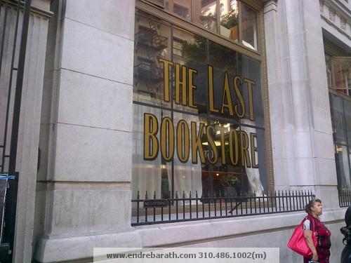 The Last Bookstore, Los Angeles CA Endre Barath